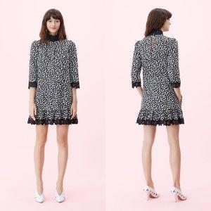Rebecca Taylor La Vie LS Jaguar Embroidered Dress